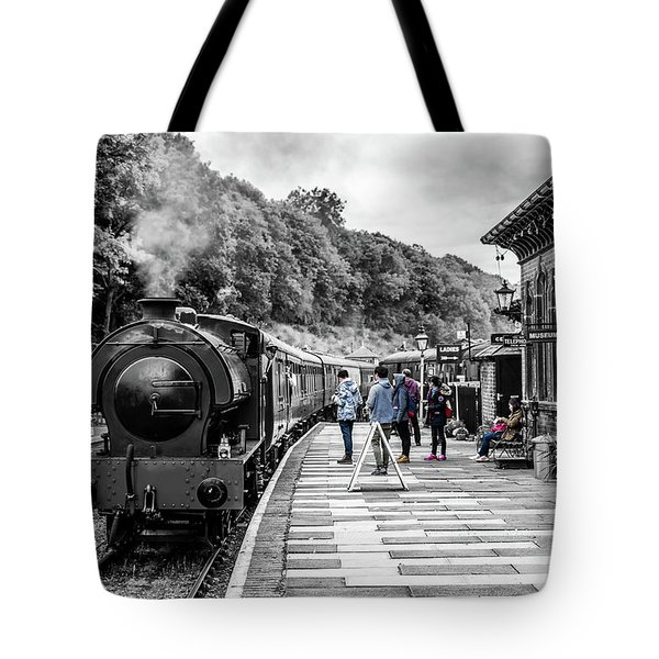 Travellers In Time Tote Bag