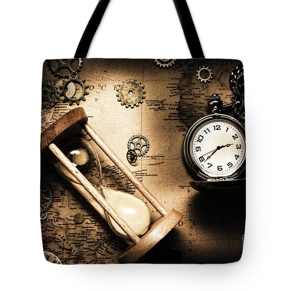 Travelling Old Worlds Tote Bag