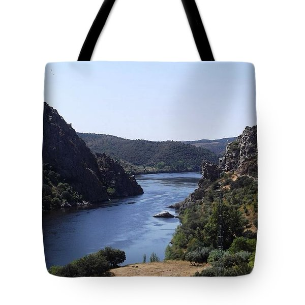 Travelling Through Western Portugal Tote Bag