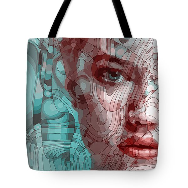 Travelling Wave Tote Bag
