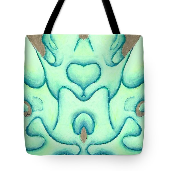 Travels Of The Mind Tote Bag by Versel Reid