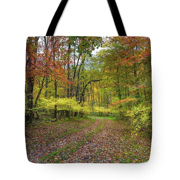 Travels Through Autumn Tote Bag