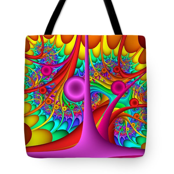 Tendrilous Tote Bag