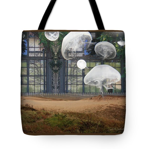 Travels With Jellyfish Tote Bag