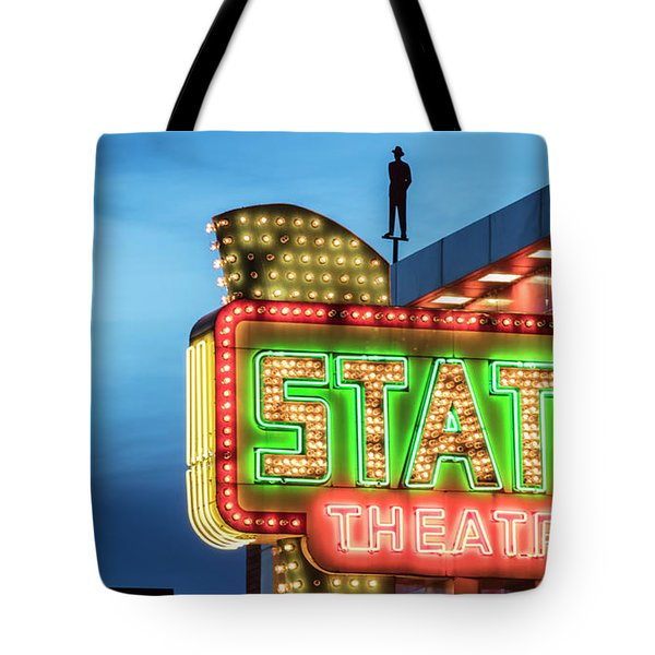 Traverse City State Theatre Tote Bag