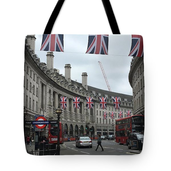 Traversing London Tote Bag