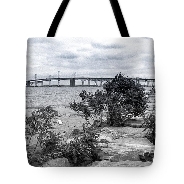 Traversing The Chesapeake Tote Bag