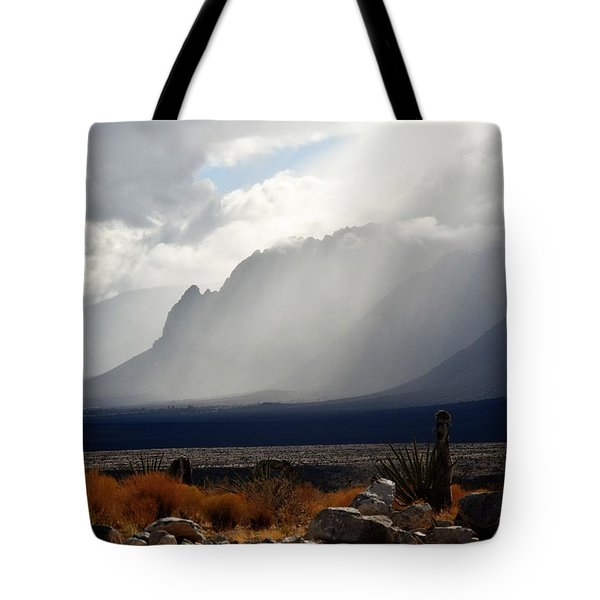 Tread Lightly Tote Bag by John Glass