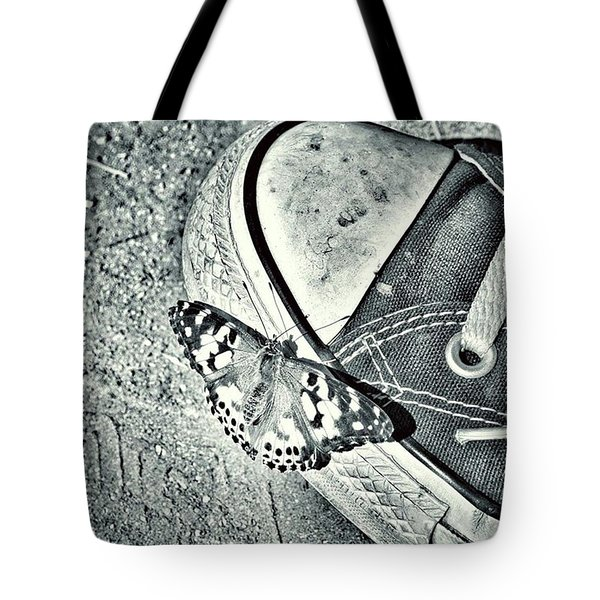 Tread Lightly  Tote Bag