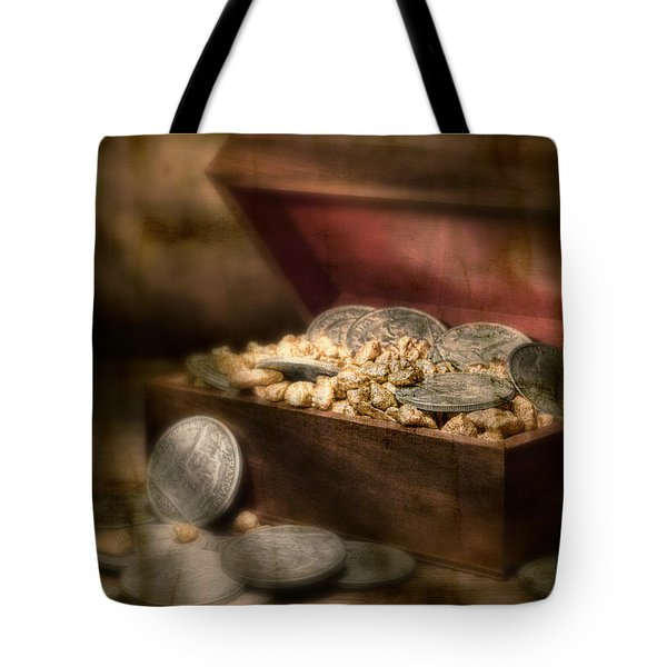 Treasure Chest Tote Bag by Tom Mc Nemar