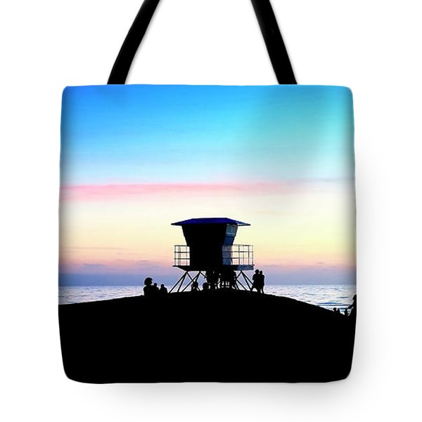 Treasure Coast Florida Sunrise Seascape Paradise 447 Tote Bag