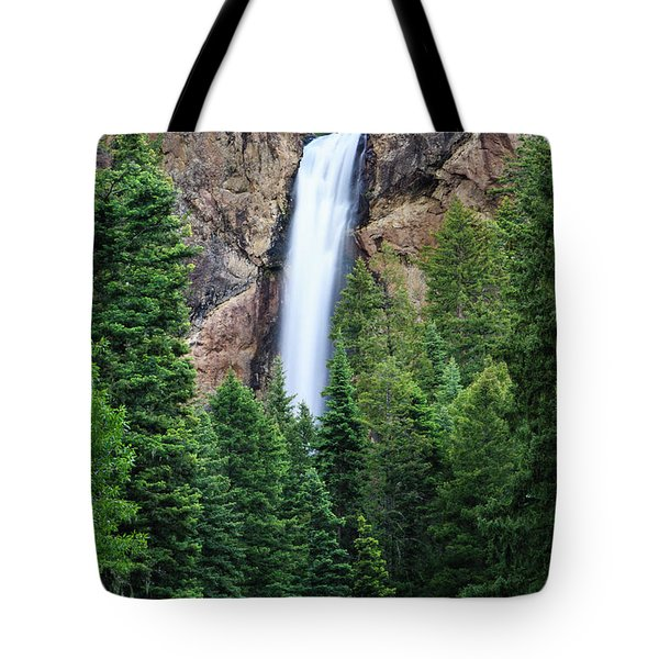 Tote Bag featuring the photograph Treasure Falls by David Chandler