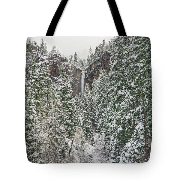 Treasure Falls Is One Of Colorado's Priceless Treasures.  Tote Bag