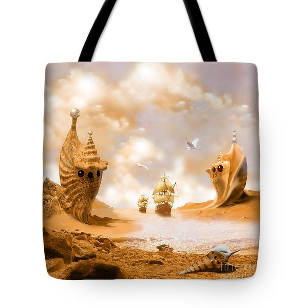 Treasure Island Tote Bag