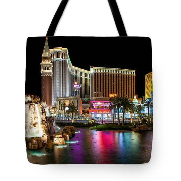 Treasure Island View Tote Bag