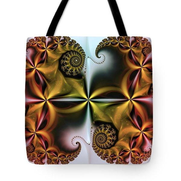Tote Bag featuring the digital art Treasure by Karin Kuhlmann