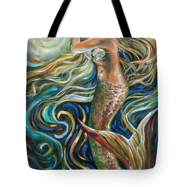 Treasure Mermaid Tote Bag