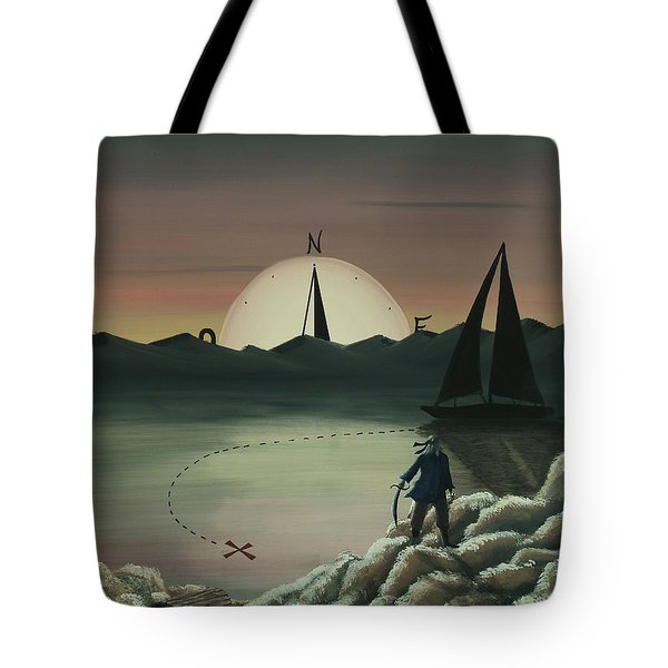 Treasure Path Tote Bag