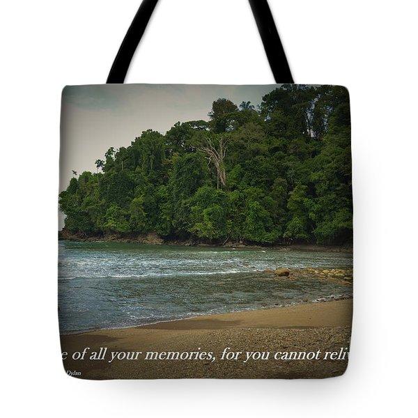 Treasure Your Memories Tote Bag