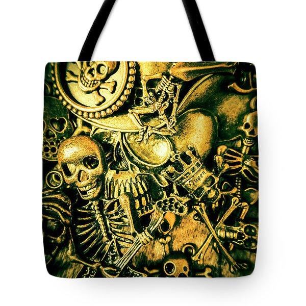 Treasures From Skull Island Tote Bag