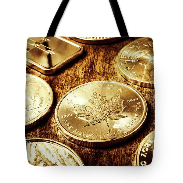 Treasures From The Bullion Vault Tote Bag