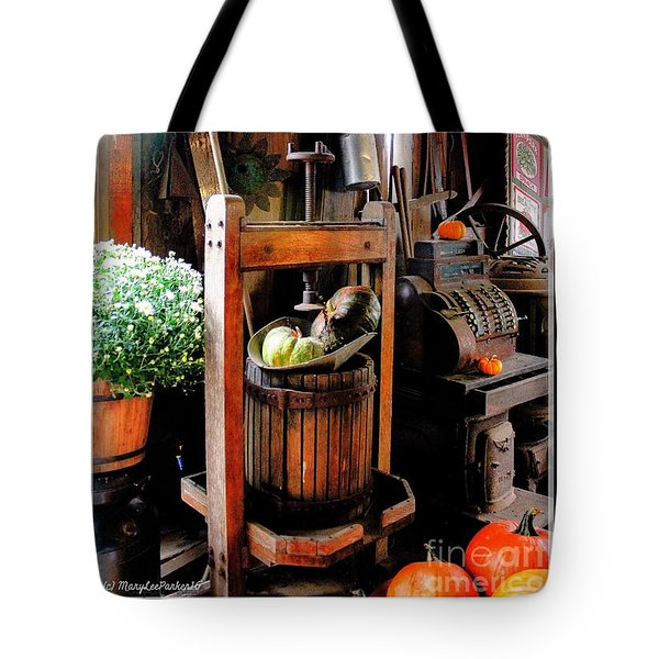 Treasures Of  Fall Tote Bag
