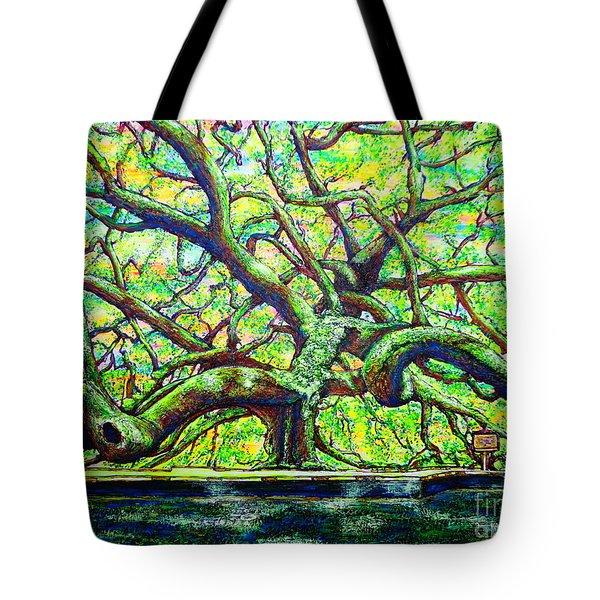 Treaty Oak /part Two/ Tote Bag