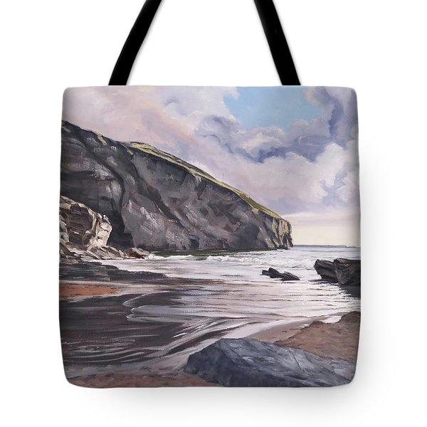 Trebarwith Strand Tote Bag