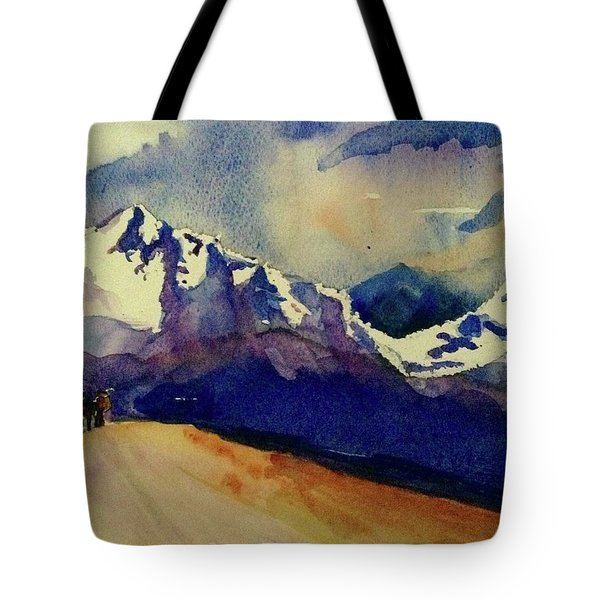 Trecking Tote Bag