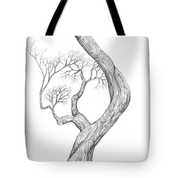 Tree 40 Tote Bag