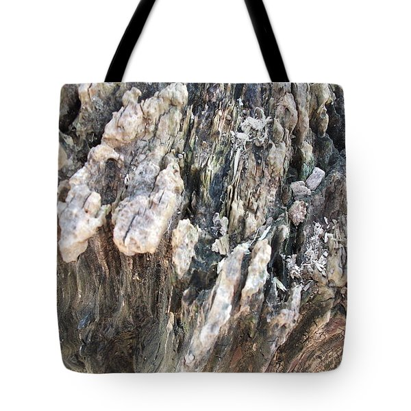 Tote Bag featuring the photograph Tree Abstract by Skyler Tipton