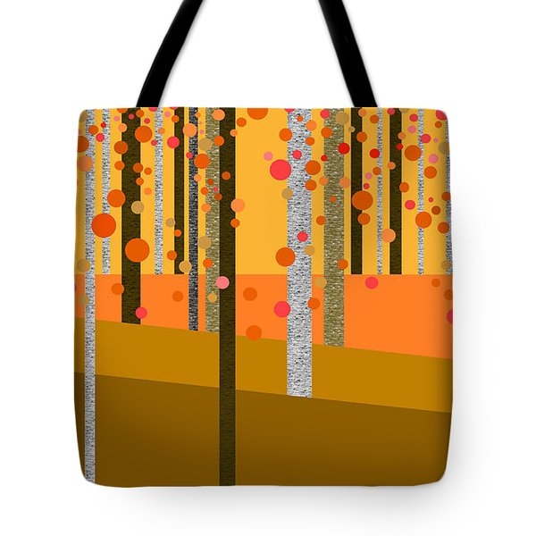Tree Abstract Tote Bag