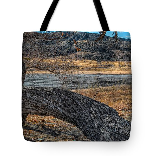Tree At Elizabeth Lake Tote Bag