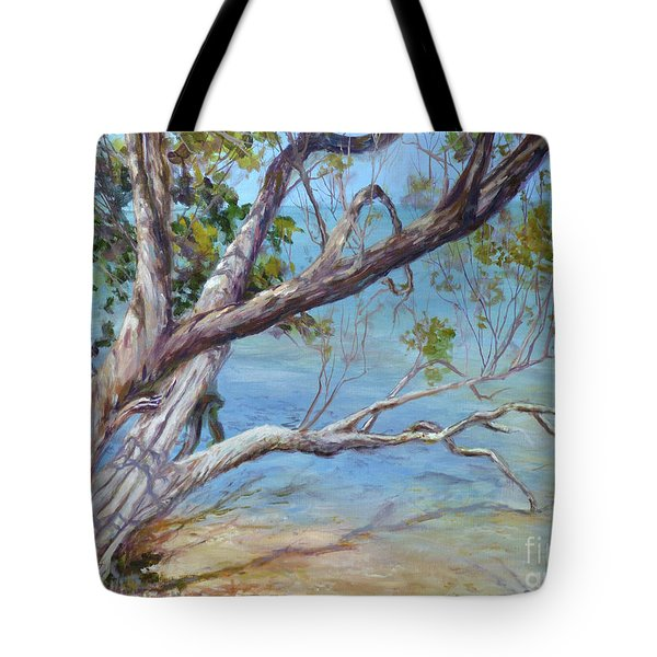 Tree At Islamorada Key Tote Bag