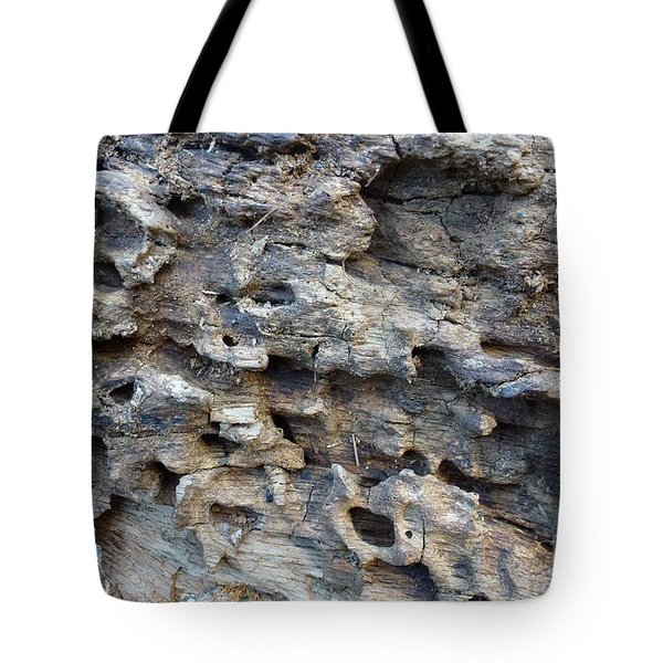 Tote Bag featuring the photograph Tree Bark 1 by Jean Bernard Roussilhe