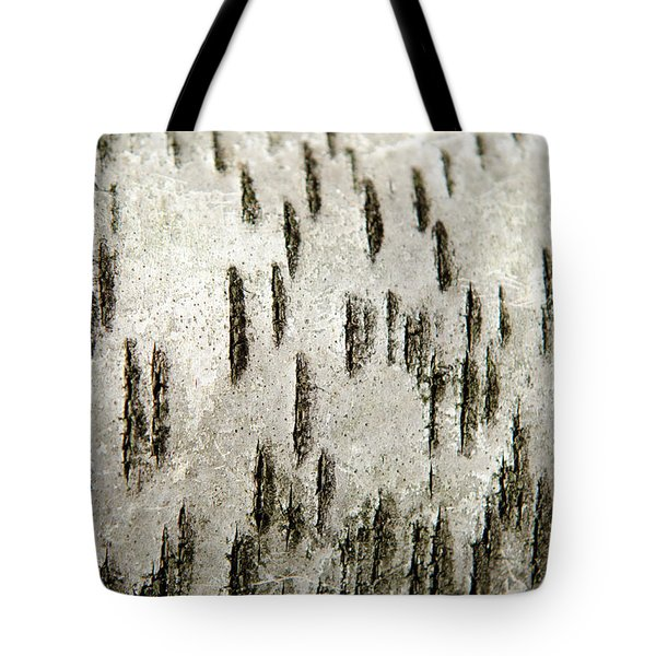 Tote Bag featuring the photograph Tree Bark Abstract by Christina Rollo
