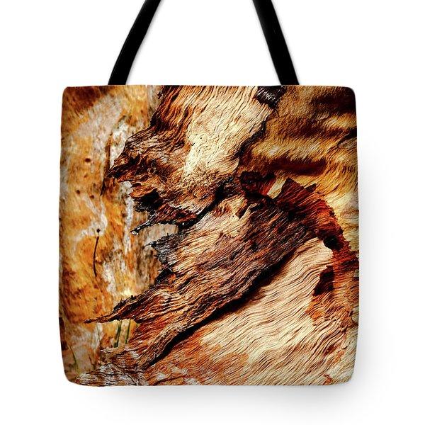 Tree Bark Series  - Patterns #2 Tote Bag by Lexa Harpell