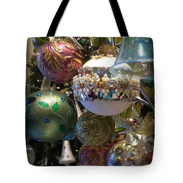 Tree Baubles Tote Bag