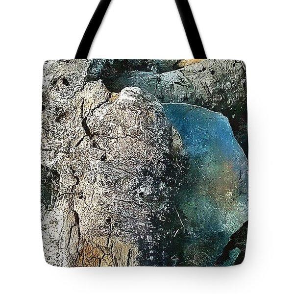 Tree Beats Rock Tote Bag