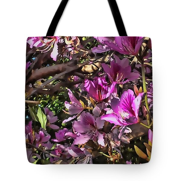 Tree Beauty 4 Tote Bag