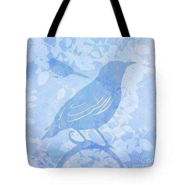Tree Birds II Tote Bag