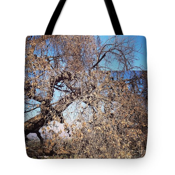 Tree Bow And Dance Tote Bag by Nora Boghossian