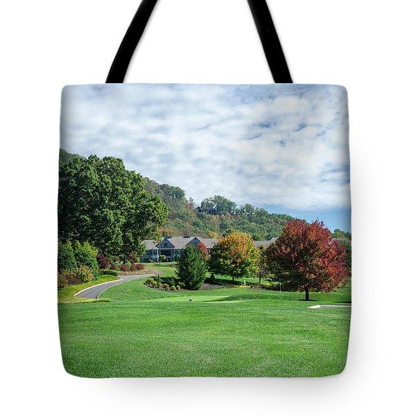 Tree Color Pop Tote Bag