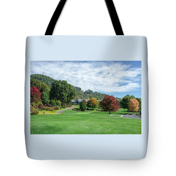 Tote Bag featuring the photograph Tree Color Pop by Claire Turner