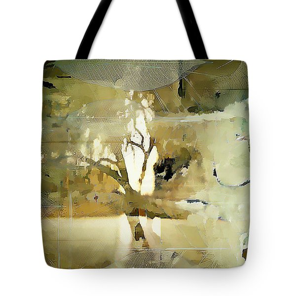 Tree Deconstructed 2 Tote Bag