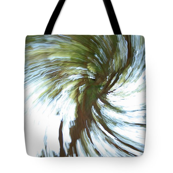 Tree Diptych 1 Tote Bag
