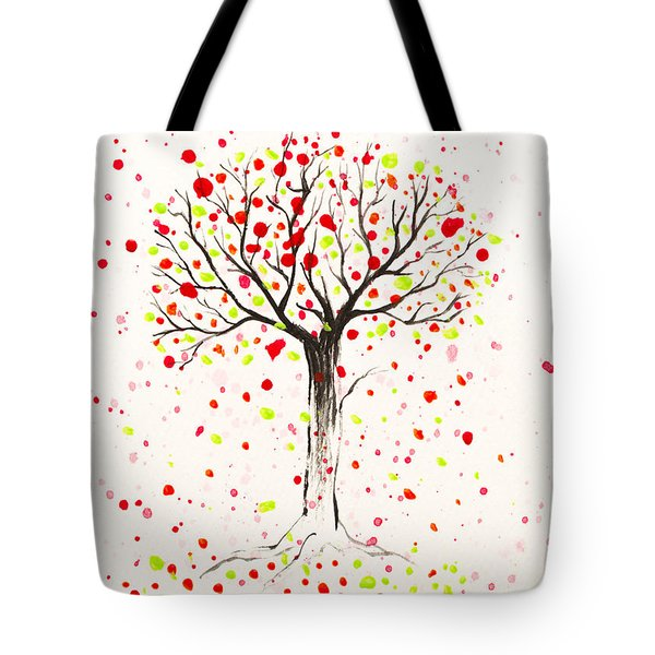 Tree Explosion Tote Bag by Stefanie Forck
