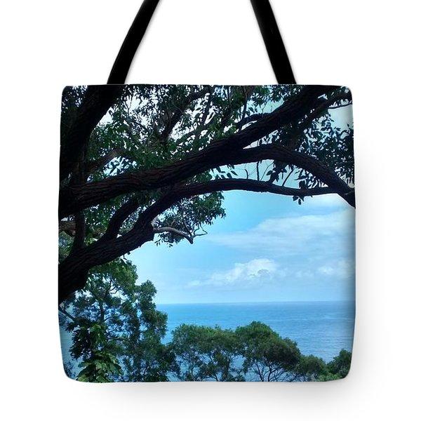 Tree Eyes Tote Bag