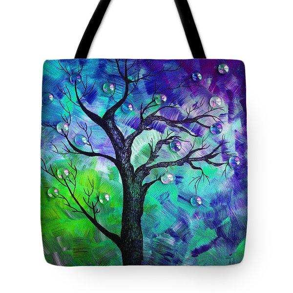 Tree Fantasy3 Tote Bag by Ramneek Narang