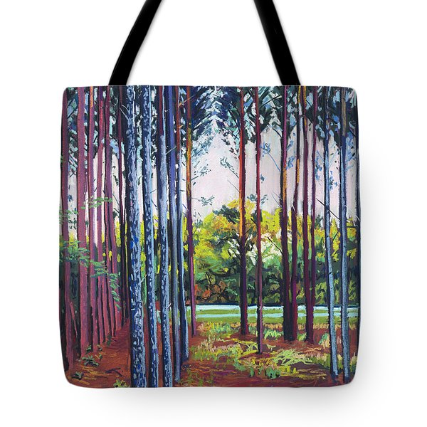 Tree Farm Tote Bag